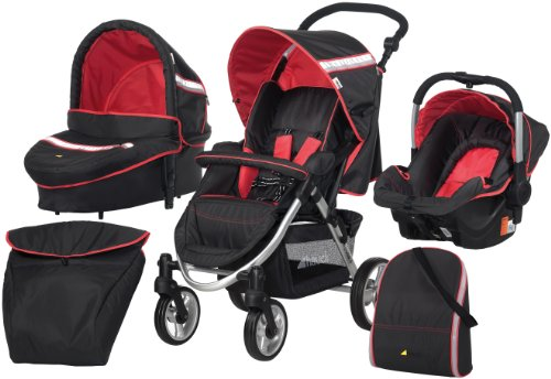Hauck Apollo Travel System Stroller (Tomato Red)