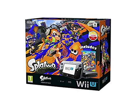 Wii U Premium Pack with Splatoon (Nintendo Wii U)
