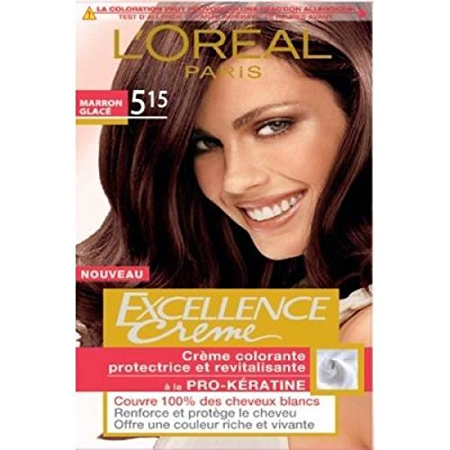 loreal excellence coloration n5 15 chtain clair cendr acajou - Coloration Excellence