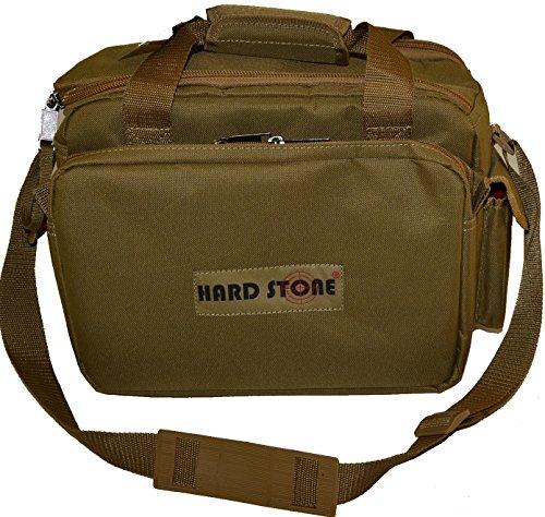 Hardstone Tactical 5 Pistol Range Go Bag With Adjustable Shoulder Strap Tan (Lockable Range Bag compare prices)