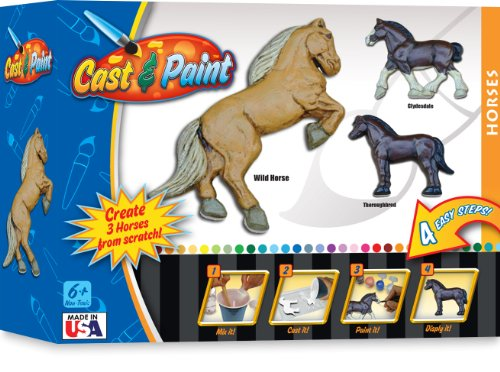 Skullduggery Cast and Paint Horse Casting Kit