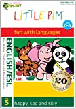 Little Pim English/ESL (English subtitles): happy, sad and silly (Disc 5)