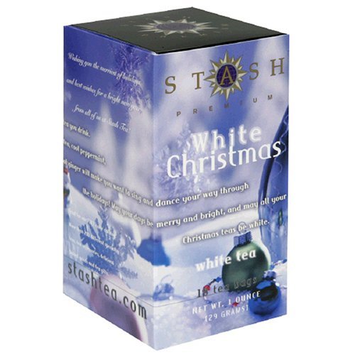 Buy Stash White Christmas White Tea, Tea Bags, 18-Count Boxes (Pack of 12) (Stash, Health & Personal Care, Products, Food & Snacks, Beverages, Tea, White Teas)