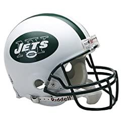 Riddell New York Jets Proline Authentic Football Helmet by Riddell
