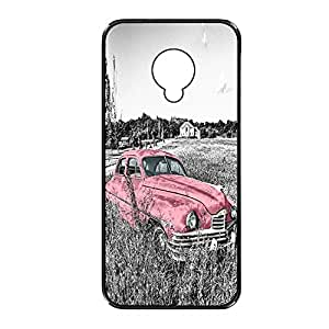 Vibhar printed case back cover for Samsung Galaxy S4 PinkAlone