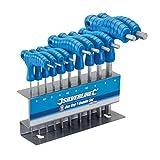 Silverline 323710 Innensechskant-Stiftschlüssel mit...