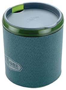 GSI Outdoors 75233 Green Insulated Infinity Mug - 17 oz.