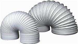 Abluftschlauch fur dunstabzugshaube biegsames pvc 150 mm for Abluftschlauch dunstabzugshaube