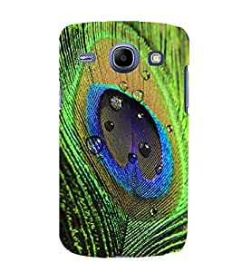 printtech Peacock Bird Feather Colorful Back Case Cover for Samsung Galaxy On7