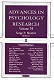 img - for Advances in Psychology Research Vol. 34 book / textbook / text book