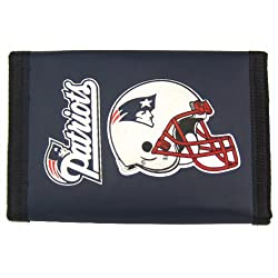 New England Patriots Nylon Trifold Wallet