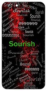 Sourish (Lord Vishnu) Name & Sign Printed All over customize & Personalized!! Protective back cover for your Smart Phone : Moto G-4-Plus