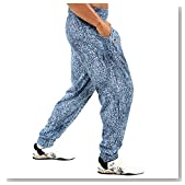 Otomix Men's Stonewash Baggy Workout Pants