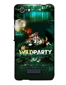 Print Haat Back Cover for Micromax Unite 3 (Multi-Color)