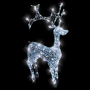 Weihnachtsfiguren beleuchtet innen