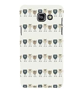 EPICCASE Queue of birds Mobile Back Case Cover For Samsung Galaxy A5 (Designer Case)