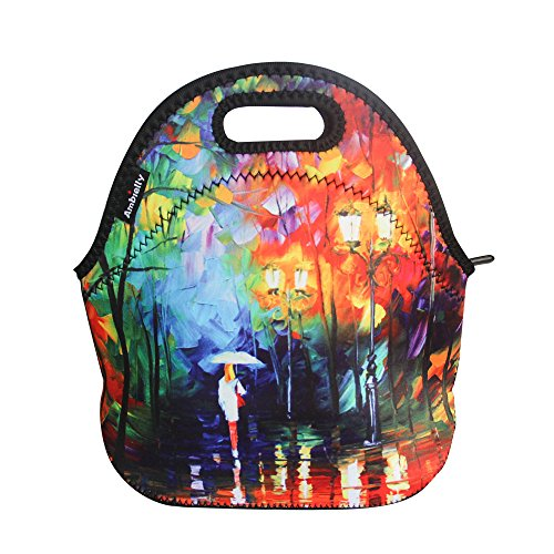 ambielly-neoprene-lunch-bag-lunch-box-lunch-tote-picnic-bags-insulated-cooler-travel-organizer-paint