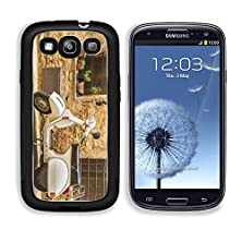 buy Msd Samsung Galaxy S3 Aluminum Plate Bumper Snap Case Vintage Scene With Vespa On Old Street Image 22586149