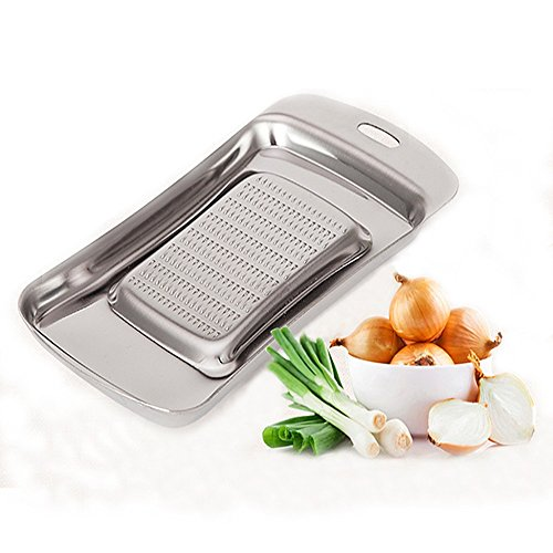 IBEET Ginger Garlic Hard Cheese Grinder Zester Mincer Stainless Steel Grater Shredder Press Crusher Chopper - Professional Kitchen Aid Tool - Perfect for Hard Food! (Mixer Lift Kit compare prices)