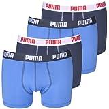 PUMA Herren BASIC Boxer Boxershort Unterhose 4er Pack in vielen Farben