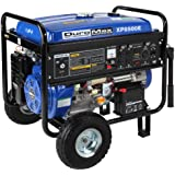 DuroMax XP8500E 8,500 Watt 16 HP OHV 4-Cycle Gas Powered Portable Generator With Wheel Kit And Electric Start