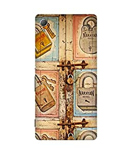 Lock Key Art Sony Xperia Z4 Printed Back Cover