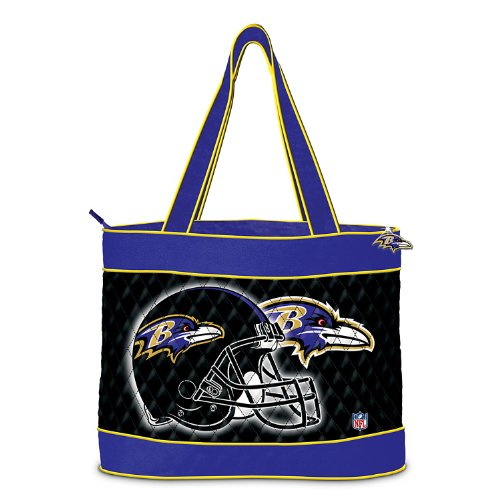NFL Baltimore Ravens Tote Bag by The Bradford Exchange at Amazon.com