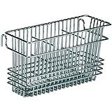 Utensil Drying Rack, 3 Compartments, Chrome