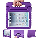 iPad case, iPad 2 3 4 Case, ANTS TECH Light Weight [ Shockproof ] Cases Cover with Handle Stand for Kids Children for iPad 2 & iPad 3 & iPad 4 (iPad 234, Purple) (Color: Purple, Tamaño: iPad 234)