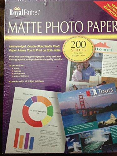 Matte Photo Paper, 8.5
