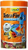 Tetra 77246 TetraFin PLUS Goldfish Flakes, 2.20-Ounce, 375 ml