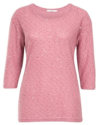 Klass Sequin Jumper - Womans - 62YWCA1102 - Dusky Pink - Small