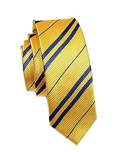 Potter Hufflepuff Neck Tie Costume Accessory Classic YELLOW For Gift