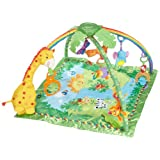 Fisher-Price Rainforest Melodies and Lights Deluxe Gym ~ Fisher-Price