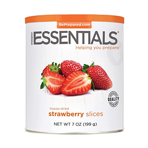 Emergency Essentials Freeze Dried Sliced Strawberries 7 Oz Can (Freeze Dried Strawberries 10 Can compare prices)