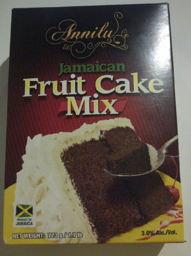 Jamaican Fruit Cake Mix – Annilu 1.7 Lb – Product of Jamaican