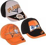 Boys Disney Planes Hat Kids Baseball Cap Orange Black New 52 54cm Age 3-12 Years
