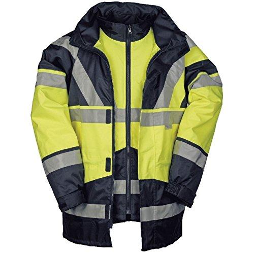 baleno-skollfield-parka-mit-abnehmbarem-weste-herren-gelb-xxxx-large-jaune-fluo-marine