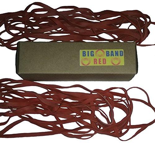 kitchen trash can rubber bands: Big Red trash bag holder 20 count 12