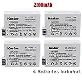 Kastar Battery (4-Pack) for Canon LP-E8, LC-E8E work with Canon EOS 550D, EOS 600D, EOS 700D, EOS Rebel T2i, EOS Rebel T3i, EOS Rebel T4i, EOS Rebel T5i Cameras