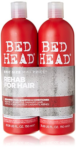 Bed Head By Tigi - Urban Anti-Dotes - Resurrection 3 Tweens Shampoo 750ml & Conditioner 750ml