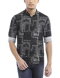 Bandit Black Casual slim Fit Shirt