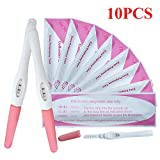 10X Ultra Testing Home Urine Pregnancy Test Kit Midstream Test Early Detection Kits HCG