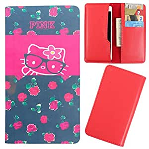 DooDa - For Microsoft Lumia 435 PU Leather Designer Fashionable Fancy Case Cover Pouch With Card & Cash Slots & Smooth Inner Velvet
