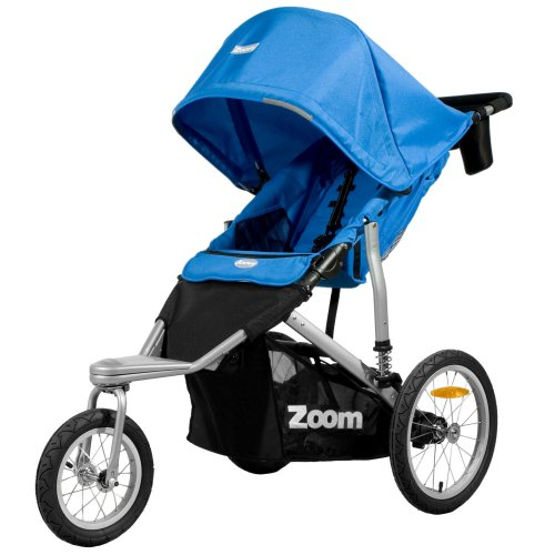 Joovy Zoom 360 Swivel Wheel Jogging Stroller, Blue
