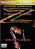 echange, troc Coffret Antonio Banderas 2 DVD : Desperado & El Mariachi / Le Masque de Zorro