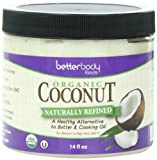 Betterbody Foods & Nutrition Organic Coconut Oil, 14 Ounce