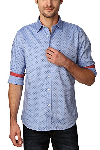 Allen-Solly-Mens-Slim-Fit-Shirt-AMSF515G0273638-Blue