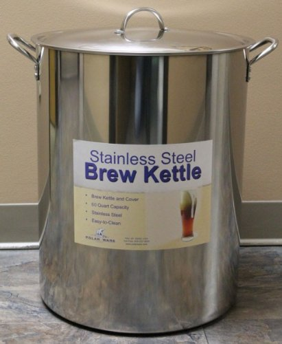 60 Quart Stainless Steel Brewing Kettle (Brew Kettle 15 Gallon Stainless compare prices)