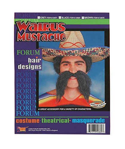 Forum Novelties Men's Adult Walrus Moustache Costume Accessory